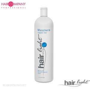 Маска для объема волос Hair Company Hair Natural Light Maschera Capelli Fini