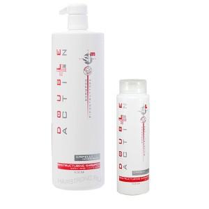 Шампунь для прямых волос Double Action Ricostruttore Capelli Liscii
