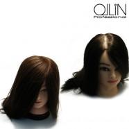 Манекен головы для обучения Ollin Professional, волосы 35-40 см + штатив