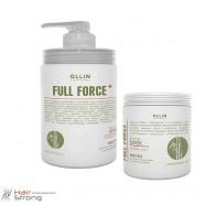 Маска для волос и кожи головы с экстрактом бамбука – Ollin Full Force Hair & Scalp Mask with Bamboo Extract