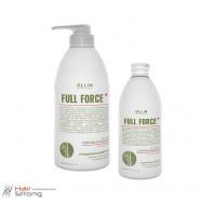Очищающий шампунь с экстрактом бамбука – Ollin Full Force Hair & Scalp Purifying Shampoo with Bamboo Extract