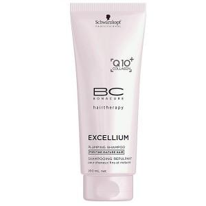 Уплотняющий шампунь для волос Bonacure Excellium Plumping 200ml