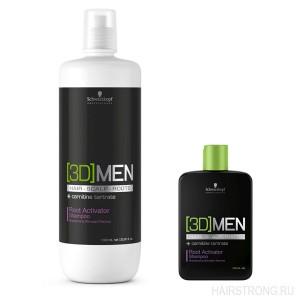Шампунь для роста волос Schwarzkopf 3D Men Hairgrowth