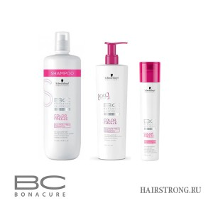 Безсульфатный шампунь Bonacure Color Freeze Sulfate-Free