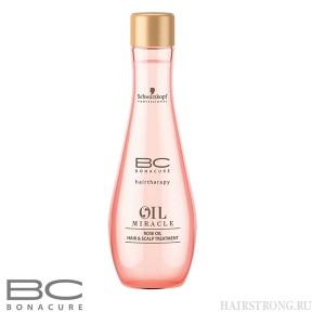 Розовое масло для волос и кожи головы