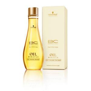 Масло-уход для тонких и нормальных волос Bonacure Oil Miracle Light Finishing Treatment