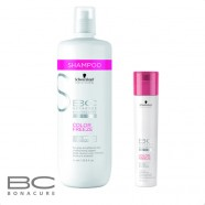Schwarzkopf Bonacure Color Freeze Silver шампунь «сияние цвета», придающий серебристый оттенок волосам