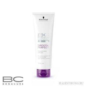 Крем для волос с термозащитой Bonacure Smooth Perfect Smoothing