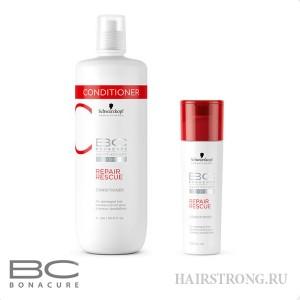 Кондиционер для поврежденных волос Bonacure Repair Rescue