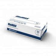 Перчатки виниловые неопудренные бесцветные ViniMAX (S и M) – 50 пар/100 шт