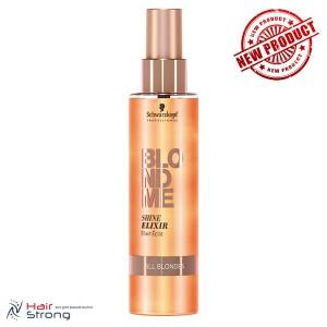 Спрей-кондиционер для блеска волос BlondMe Shine