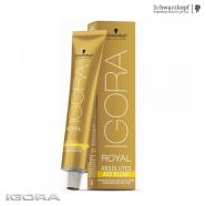 Крем-краска для зрелых седых волос – Schwarzkopf Igora Royal Absoutes Age Blend 60ml