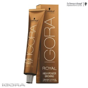 Краска брюнеток Igora Royal High Power Browns