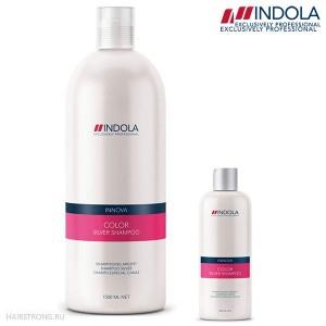 Шампунь придающий серебристый оттенок волосам Indola Innova Color Silver