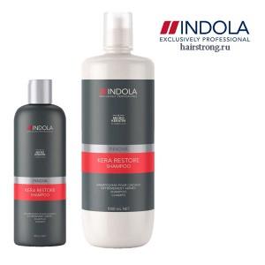 Шампунь с кератином Indola Kera Restore Shampoo