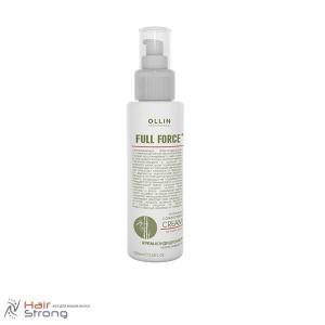 Крем-кондиционер против ломкости волос с экстрактом бамбука Ollin Full Force