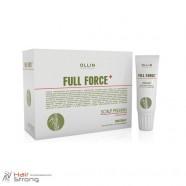 Пилинг для кожи головы с экстрактом бамбука – Ollin Full Force Scalp Peeling with Bamboo Extract 10x15 мл