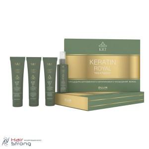 Набор кератинового восстановления волос Ollin Keratin Royal