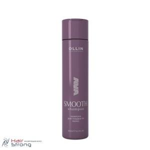 Шампунь для гладкости волос Ollin For Smooth Hair Shampoo
