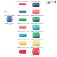 Бигуди липучки Sibel различных диаметров