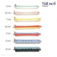Бигуди-коклюшки Sibel для химической завивки длинные 80 мм