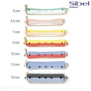 Бигуди-коклюшки Sibel для химической завивки короткие 60 мм
