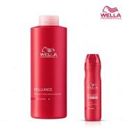 Шампунь для окрашенных нормальных и тонких волос Wella Brilliance