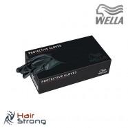 Перчатки виниловые для парикмахерских работ Wella Professional