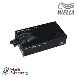 Перчатки виниловые wella