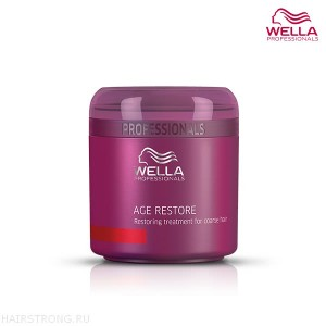 Маска для жестких волос Wella Age Restore Treatment For Coarse Hair