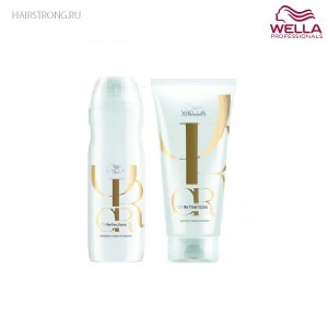 Набор для блеска волос Wella Oil Reflections