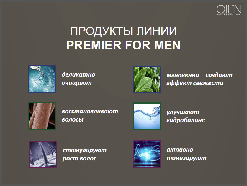 Шампунь-кондиционер для мужчин Ollin For Men